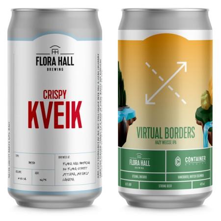 Flora Hall Brewing Releases Crispy Kveik and Virtual Borders Hazy Weisse IPA