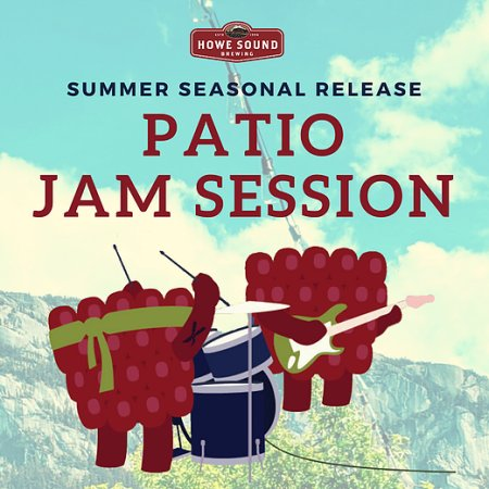Howe Sound Brewing Brings Back Jam Session Raspberry Cream Ale