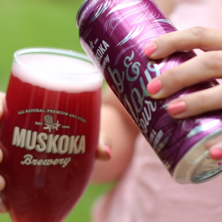 Muskoka Brewery Releases Ebb & Flow with Plum and Boysenberry
