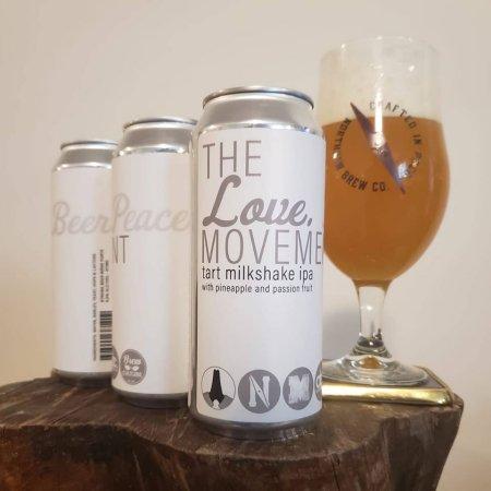 Northpaw Brew Co. Releases The Love Movement Tart Milkshake IPA