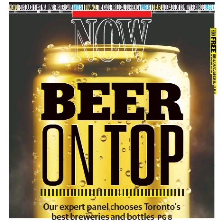 NOW Magazine Beer Issue 2020 Now Available