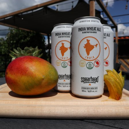 Spearhead Brewing Launches Globetrotters Series with India Wheat Ale