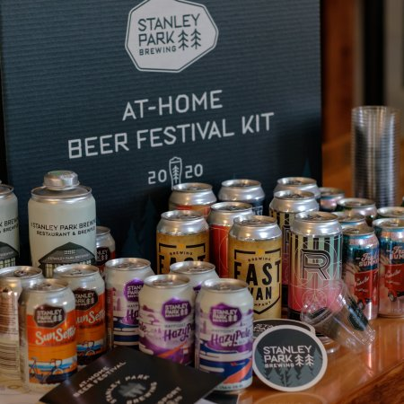 Stanley Park Brewing Releases At Home Beer Festival Kit with Russell Brewing, East Van Brewing & Red Truck Beer