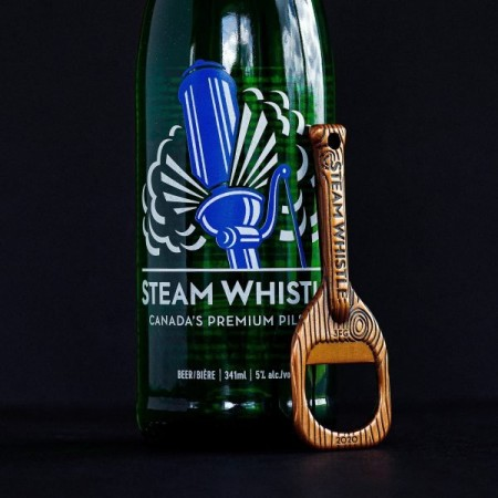 Steam Whistle Brewing Releases Limited Edition Opener and Scavenger Hunt Pack for 20th Anniversary
