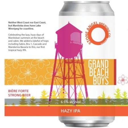 Stone Angel Brewing Releasing Grand Beach Boys Hazy IPA