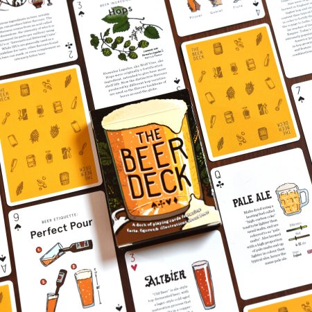 The Beer Deck Playing Card Set Now Available via Kickstarter Campaign