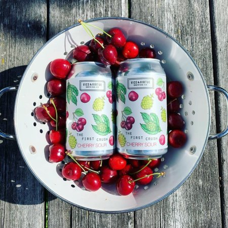 Vice & Virtue Brewing Releases The First Crush Cherry Sour