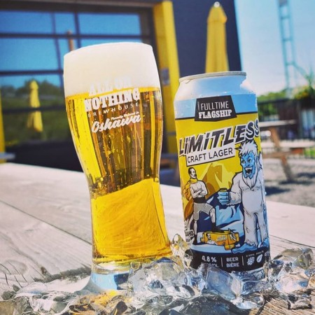 All or Nothing Brewhouse Limitless Craft Lager Now Available Year-Round