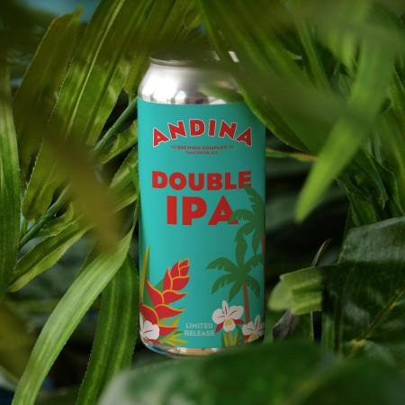 Andina Brewing Releases Frondosa Double IPA and Brumosa VI IPA