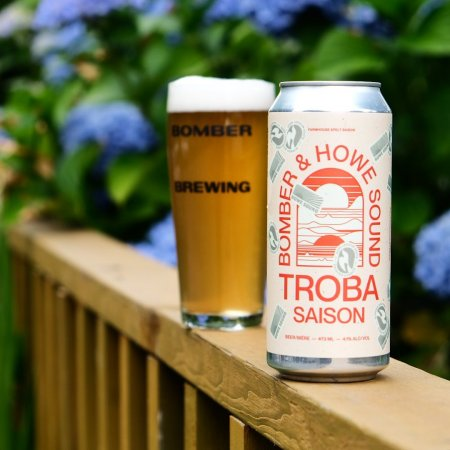 Bomber Brewing and Howe Sound Brewing Release Troba Saison