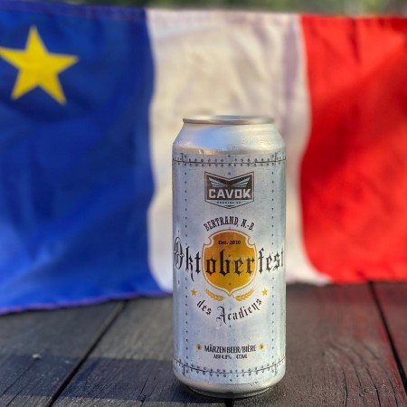 CAVOK Brewing Releases Oktoberfest des Acadiens Märzen