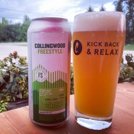 The Collingwood Brewery Freestyle Series Continues with New England IPA