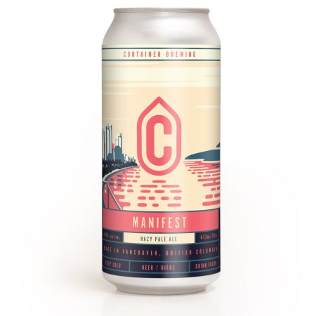 Container Brewing Releases Manifest Hazy Pale Ale