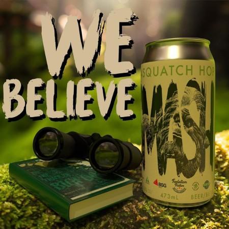 Garrison Brewing Releases Sasquatch SMASH Pale Ale