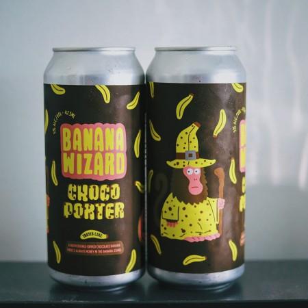 Good Robot Brewing Releases Banana Wizard Chocolate Banana Porter