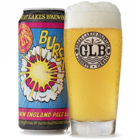 Great Lakes Brewery Adds BURST! A New England Pale Ale to Year-Round Line-Up