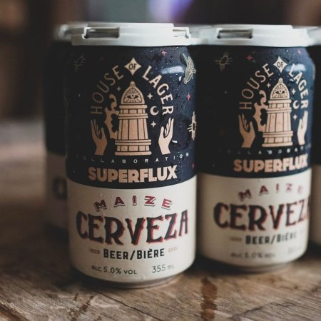 House of Funk Brewing and Superflux Beer Co. Release Maize Cerverza Corn Lager