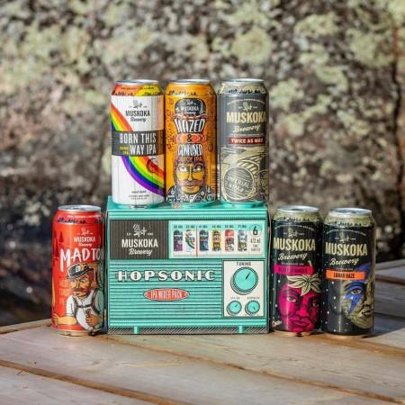Muskoka Brewery Brings Back Hopsonic IPA Mixer Pack