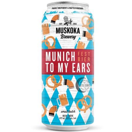 Muskoka Brewery Releases Munich To My Ears Fest Bier