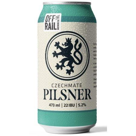 Off The Rail Brewing Rebrands Spirit Lifter Pilsner as Czechmate Pilsner
