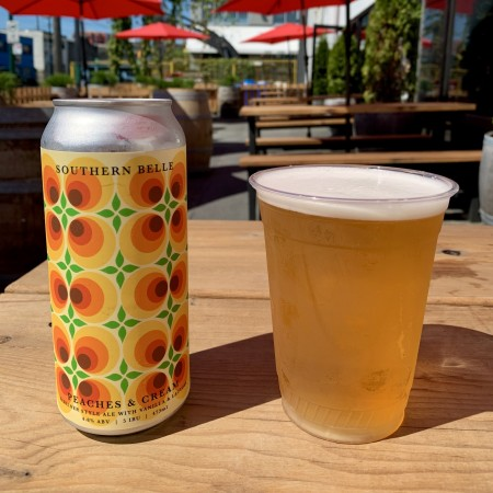 Powell Brewery Brings Back Southern Belle Peaches & Cream Berliner Weisse