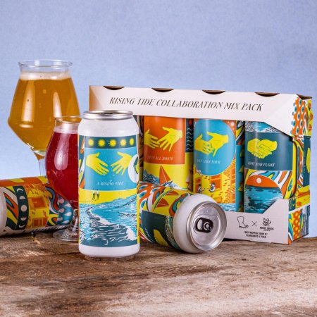 Wellington Brewery Releases Rising Tide Collaboration Mix Pack for 35th Anniversary