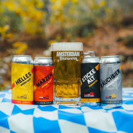 Amsterdam Brewery Releases Quartet of Oktoberfest Seasonals