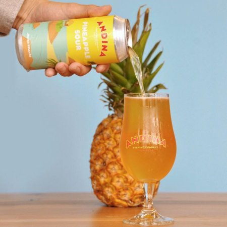 Andina Brewing Releases Penacho Pineapple Sour