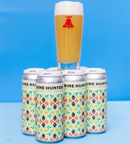 Bellwoods Brewery Releases 2020 Edition of Bine Hunter Wet Hop Pale Ale