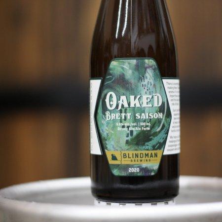 Blindman Brewing Releases Oaked Brett Saison