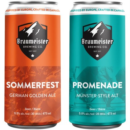Braumeister Brewing Brings Back Sommerfest Golden Ale and Promenade Alt