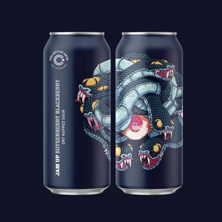 Collective Arts Brewing Releases Jam Up Boysenberry & Blackberry Dry-Hopped Sour