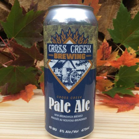 Cross Creek Brewing Pale Ale Now Available in Cans