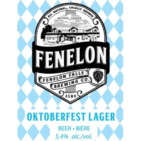 Fenelon Falls Brewing Releasing Oktoberfest Lager