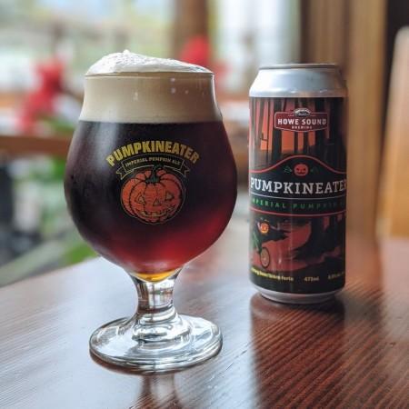 Howe Sound Brewing Brings Back Pumpkineater Imperial Pumpkin Ale