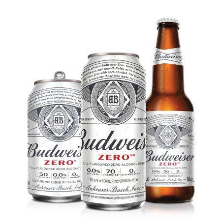 Labatt Breweries Launches Budweiser Zero in Canada