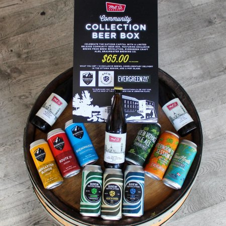 Mill Street, Braumeister, Brew Revolution & Evergreen Release Community Collection Brew Box