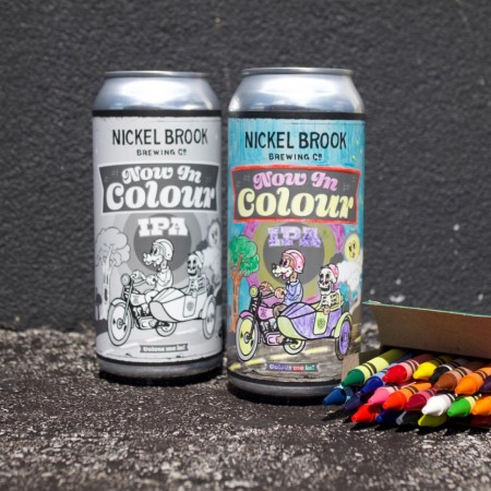 Nickel Brook Brewing and Ren Navarro Release Now In Colour IPA for SKETCH Toronto