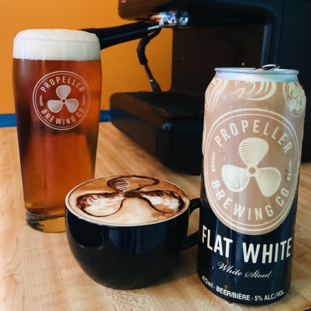 Propeller Brewing Releases Flat White White Stout