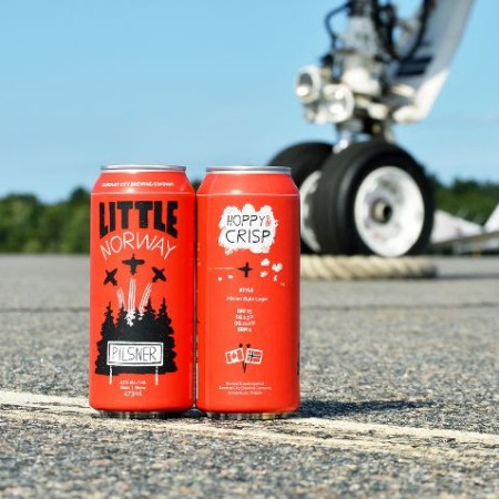 Sawdust City Brewing Relaunching Little Norway Pale Lager as Little Norway Pilsner