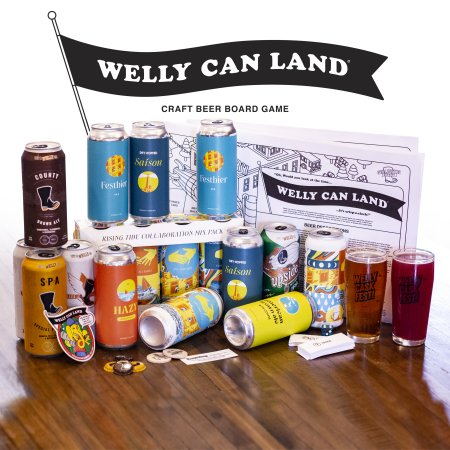 Wellington Brewery Releases Welly Can Land Craft Beer Board Game