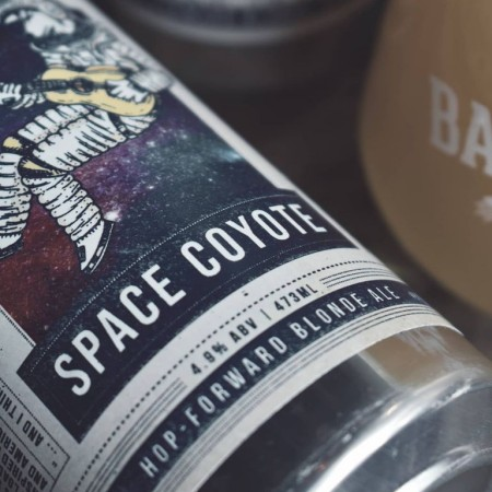 Bar Hop Launching New Can Series with Space Coyote Blonde Ale