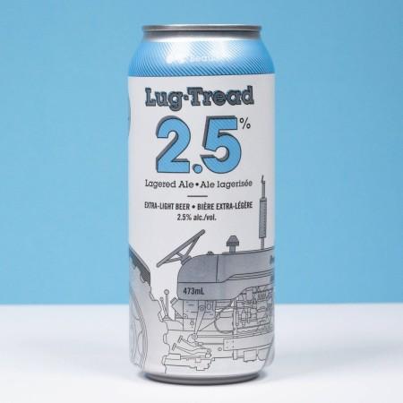 Beau's Brewing Releasing Lug Tread 2.5