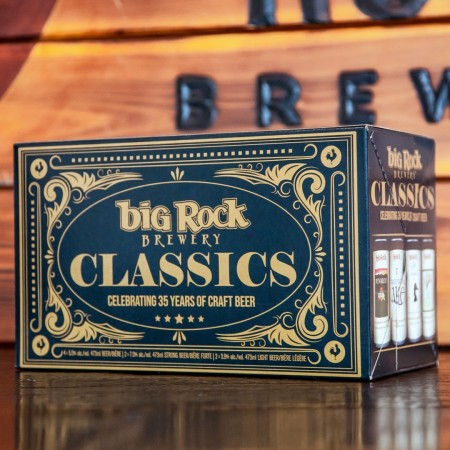 Big Rock Brewery Releases Classics Mixed Pack for 35th Anniversary