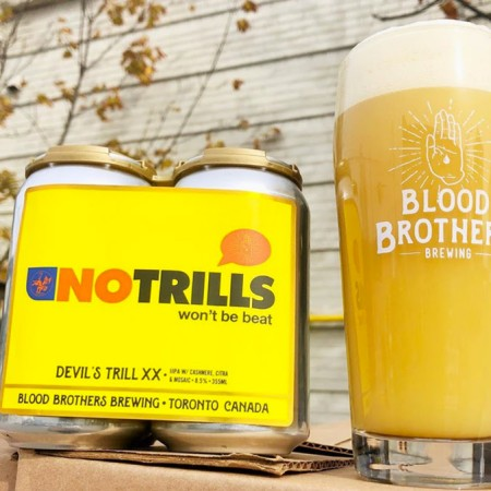 Blood Brothers Brewing Releases Devil's Trill XX: No Trills IIPA