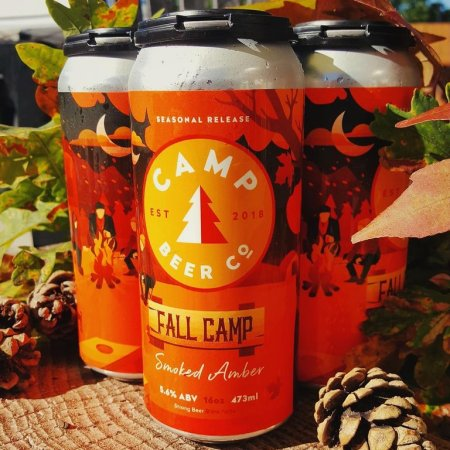 Camp Beer Co. Releases Fall Camp Smoked Amber Ale