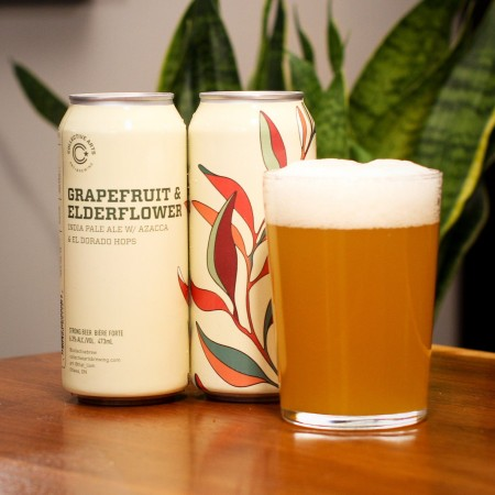 Collective Arts Brewing Releases Grapefruit & Elderflower IPA