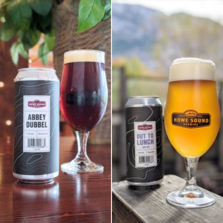 Howe Sound Brewing Releases Abbey Dubbel and Out To Lunch Dry IPA