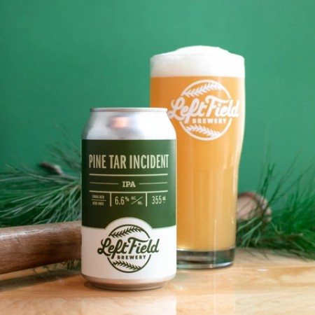 Left Field Brewery Brings Back Pine Tar Incident IPA