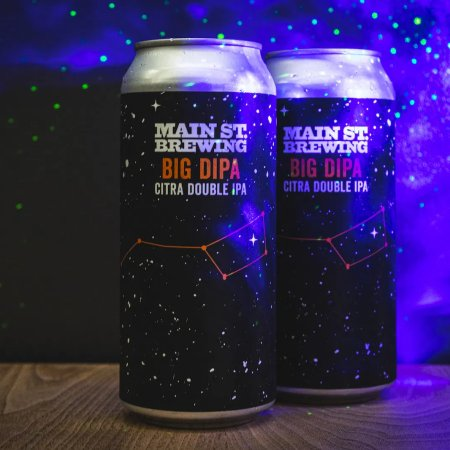 Main Street Brewing Releases Big DIPA Citra Double IPA